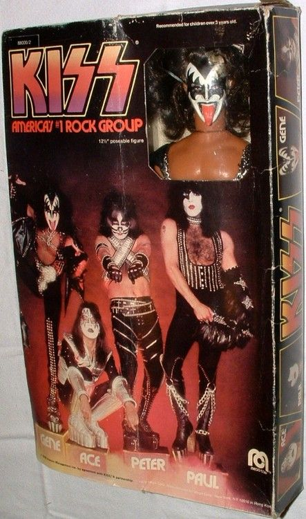 Mego 1978 Kiss Gene Simmons Action Figure With Images Kiss