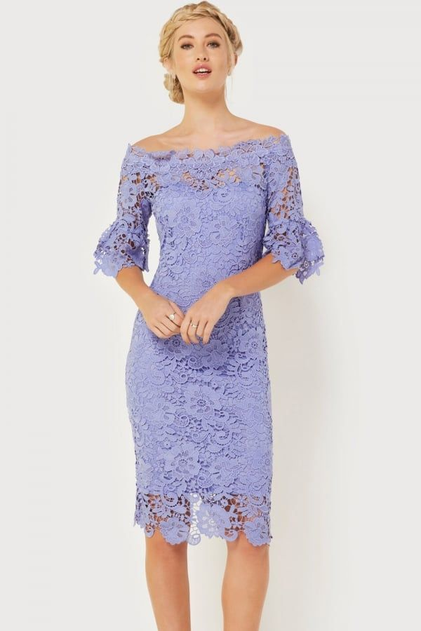 Paper Dolls Blue Crochet Dress - Paper Dolls from Little Mistress UK ...