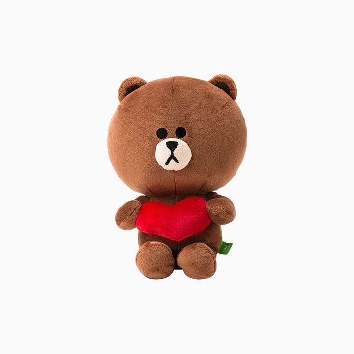 """CONY Mix Match Costume Plush Doll Toy 25cm 9.8/"""" LINE FRIENDS Character BROWN"""