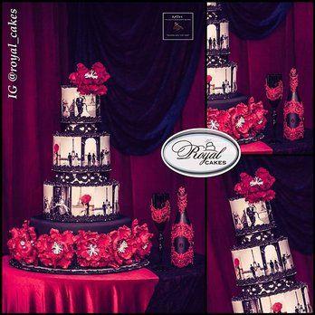 Midnight in Paris Cake | Yelp | paris glamour | Pinterest