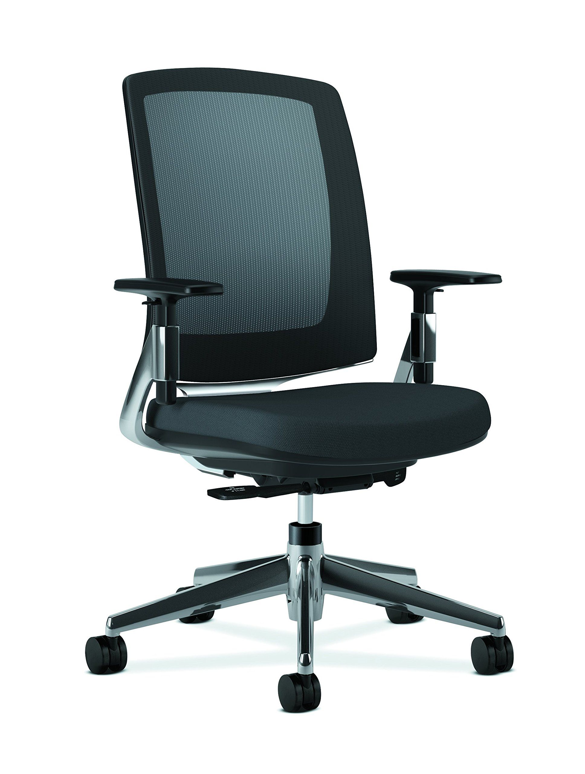 HON Lota Mid Back Work Chair   Mesh Back Computer Chair For Office Desk,
