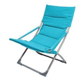 fauteuil loggia levana bleu castorama