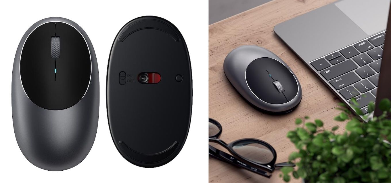 27ee0a3fa8a Satechi、USB-C充電対応のBluetoothマウス「M1 Wireless Mouse」を発売 ...