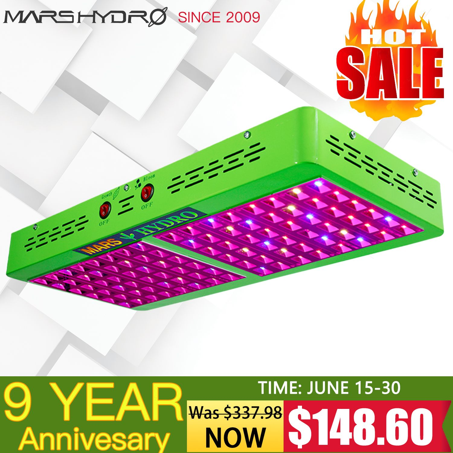 Mars Hydro Ts 1000w Led Grow Light Full Spectrum For All Indoor Plant Veg Flower 686494424777 Ebay Led Grow Lights Grow Lights Best Led Grow Lights