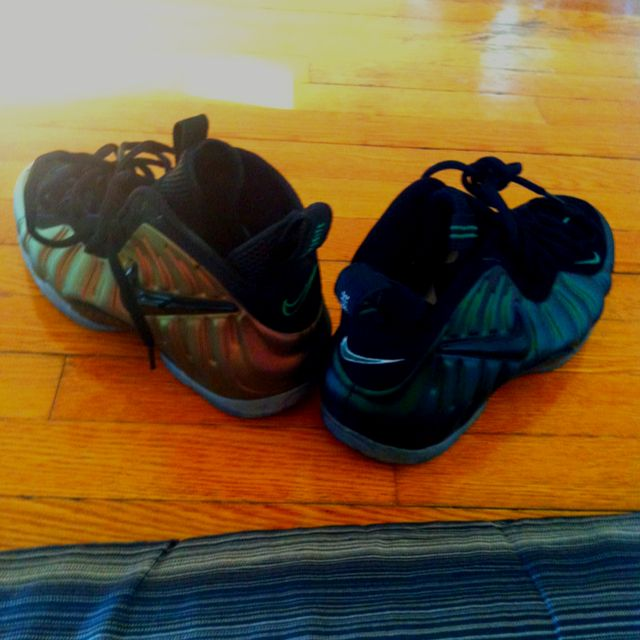 best sneakers 7c1a0 bfb6f Gem (gym) Green   Pine Green Foamposites