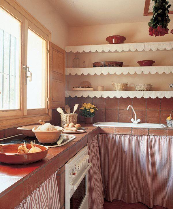 Bajo mesada hecho de ladrillo rasado buscar con google mesas de pal pinterest ladrillo - Mesas de pale ...