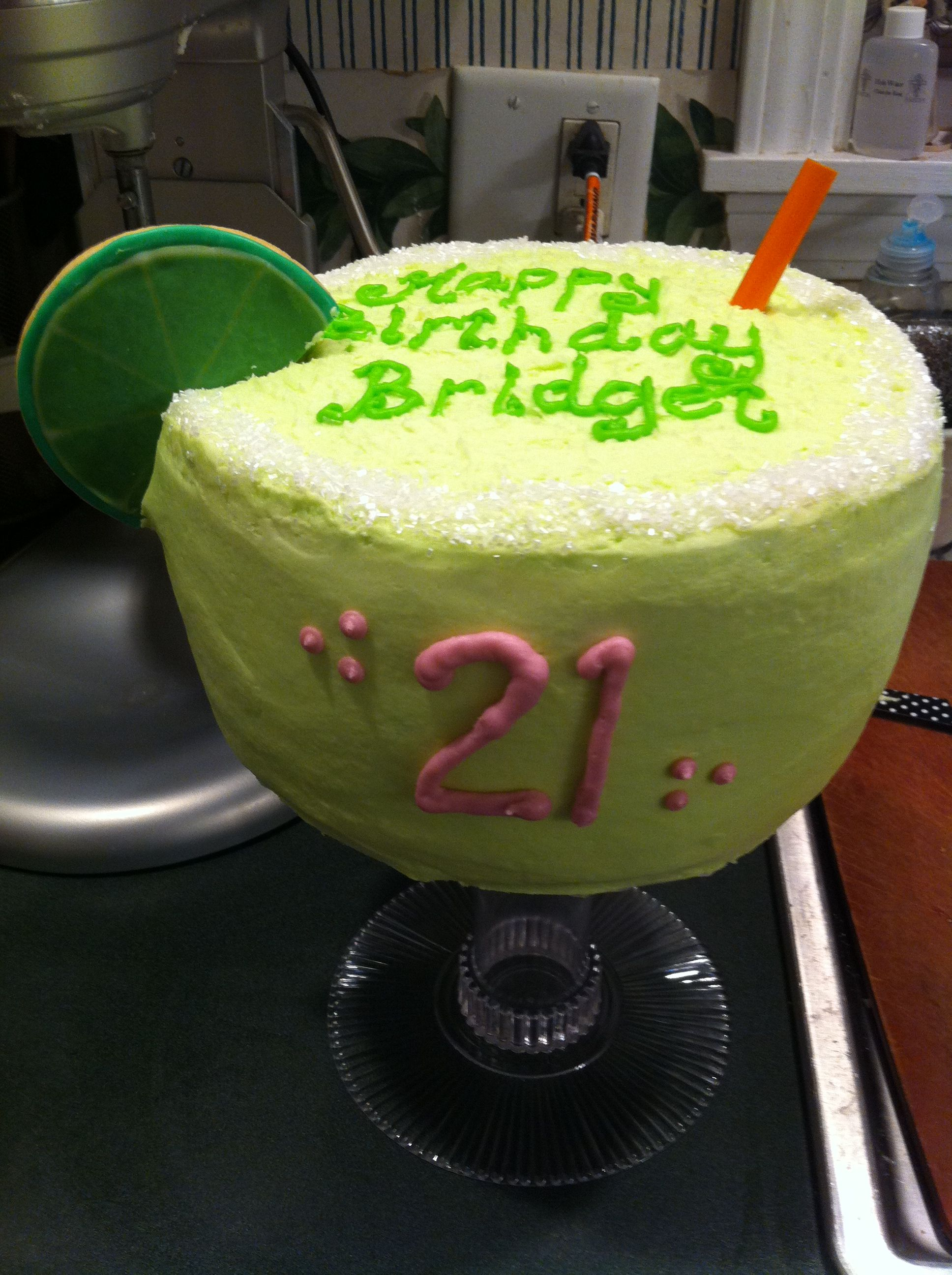 Margarita Glass Cake My Cakes Pinterest Cake Cupcakes And