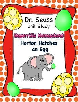 Dr. Seuss Horton Hatches an Egg Unit | Educational activities ...