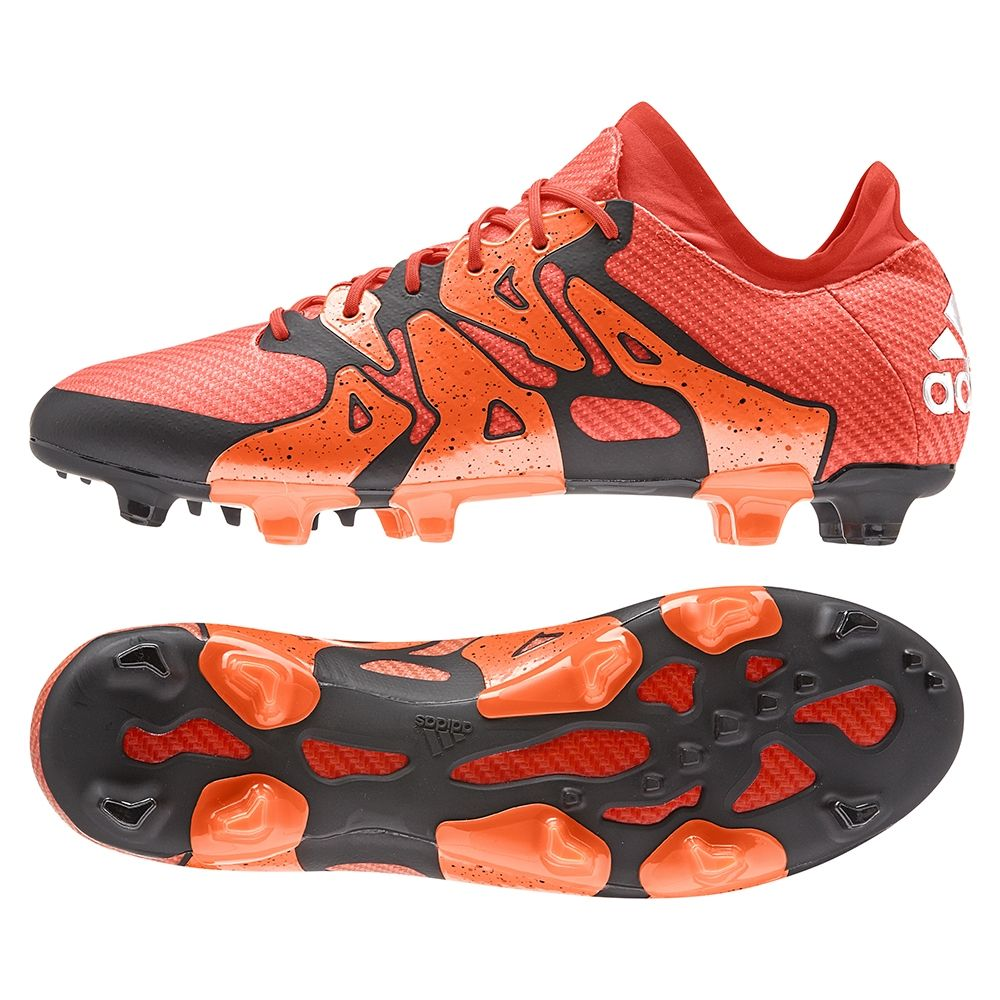 Create Chaos with the Adidas X 15.1 soccer cleats. These soccer boots will  help deliver