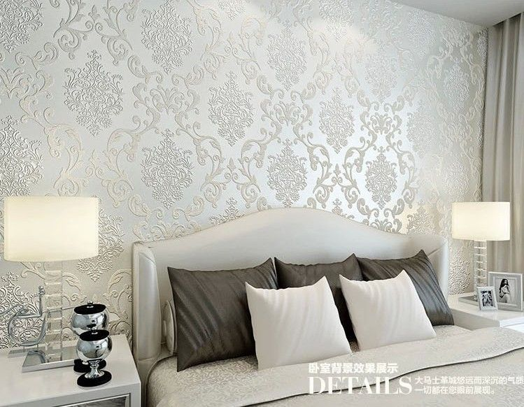 For Living Room Bedroom Tv Background Wall Paper Roll Free