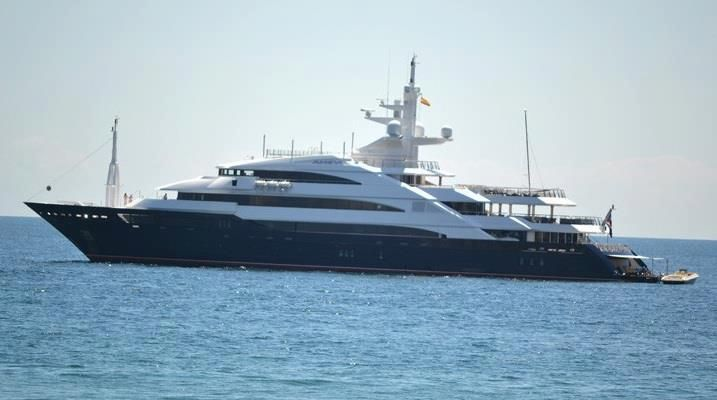 Luxury yatch in Marbella