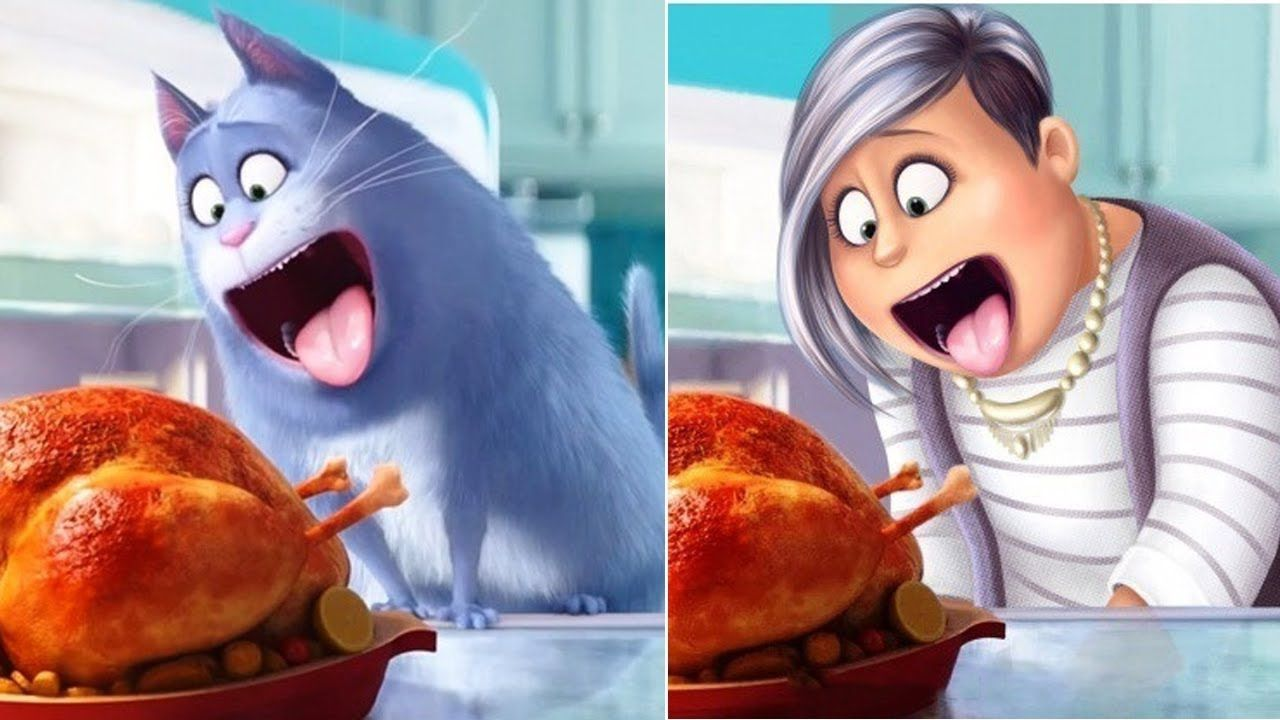The Secret Life Of Pets Human Version Misa Cartoons In 2020