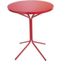 Photo of Tisch aus Metall Pix Schaffner Ag rot, Designer Schaffner Schaffner