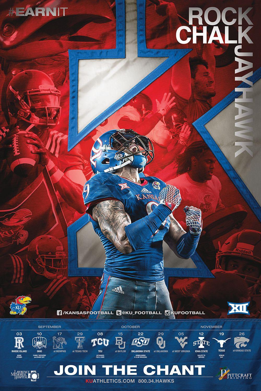 Kansas Football.jpg … Sports graphic design