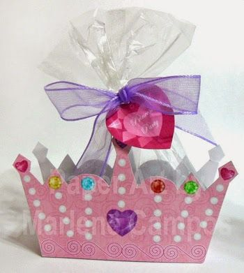 So Cute Free Printable Crown Box.