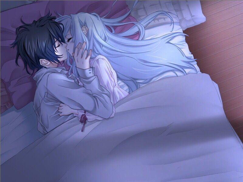 Аниме картинки спокойной ночи обнимаю