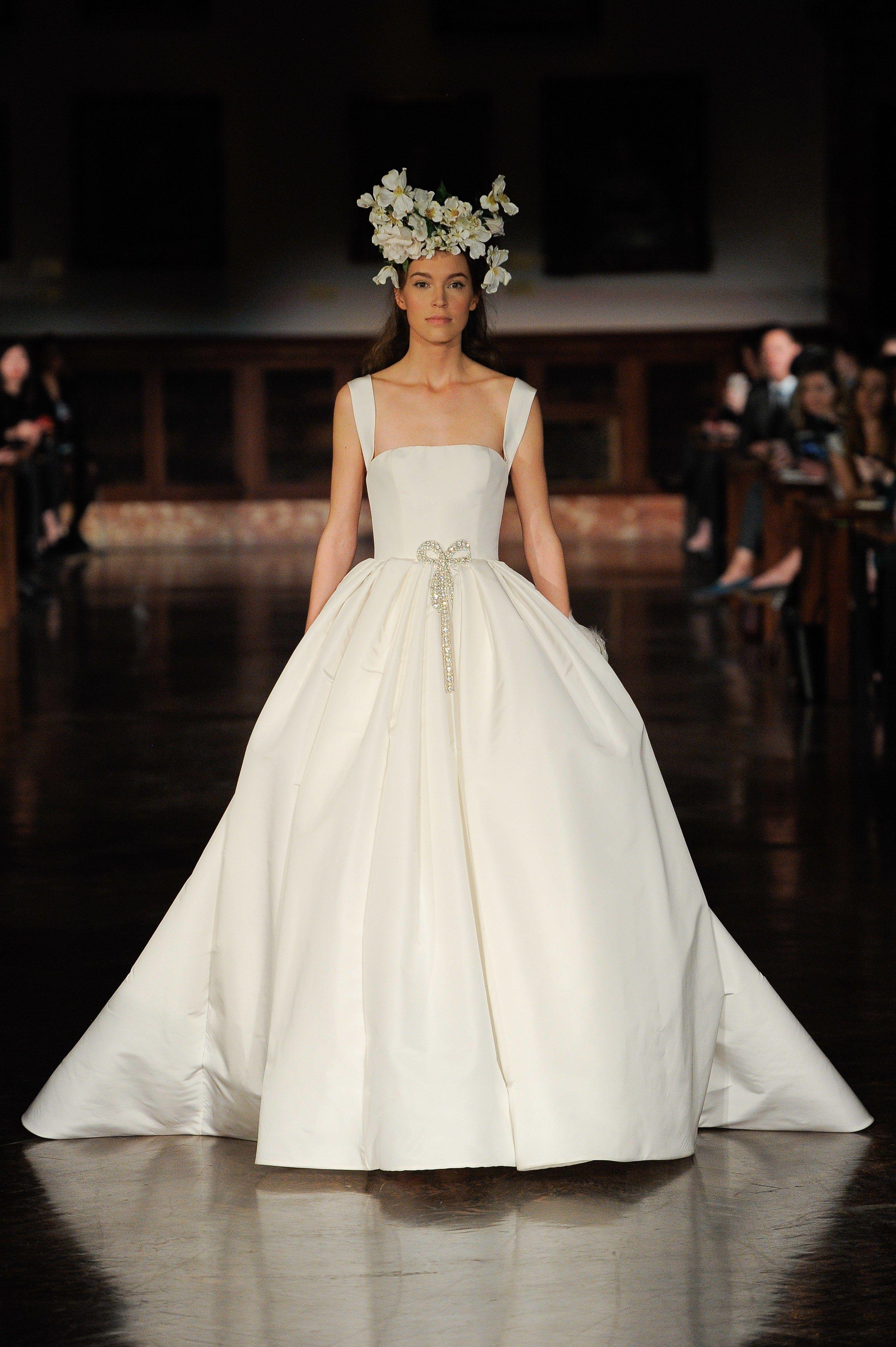 Reem Acra Bridal Spring 2019 Fashion Show Ball Gowns Wedding Ball Gown Wedding Dress Wedding Dresses Kleinfeld