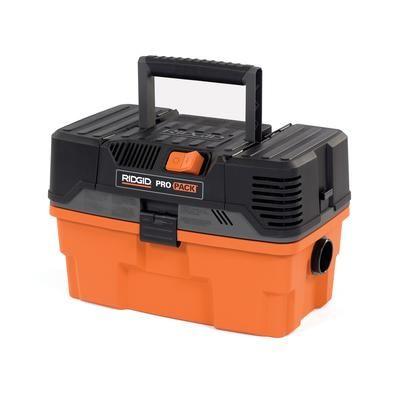 Ridgid - 4 5 Gallon RIDGID Pro Pack Portable Wet/Dry Vac - WD4522