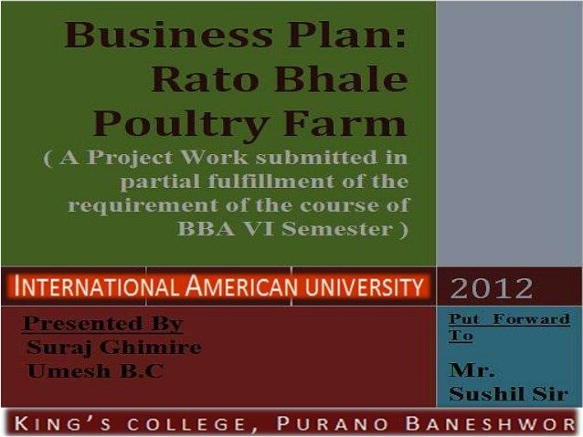 Business Plan For Poultry Farming Pdf How To Start Poultry Farming
