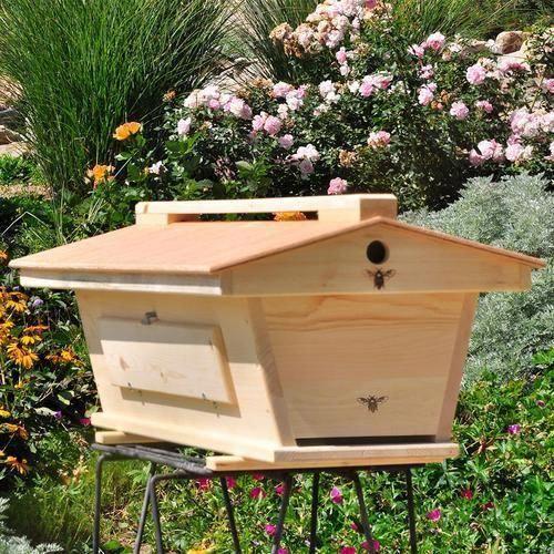 The Original BackYardHive Top Bar Bee Hive #beesupplies # ...
