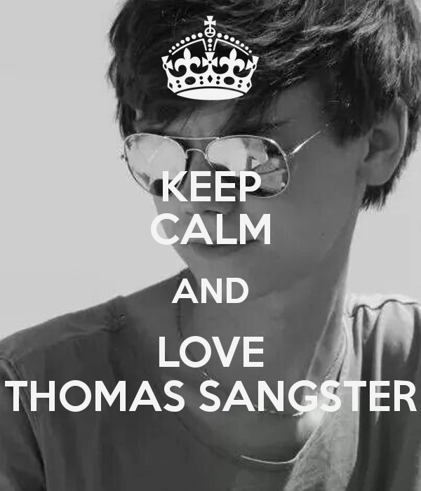 Thomas Sangster Keep Calm newt | Bakgrunder, Serier