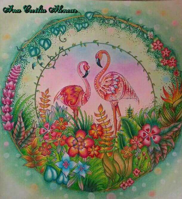 Pin by Dee Odam on Magical Jungle by JB | Johanna basford ...