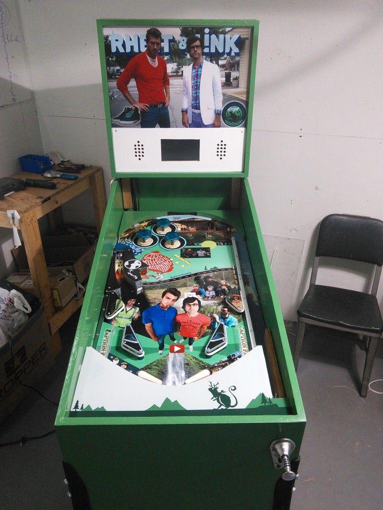 Raspberry Pi Pinball | Mame | Pinball, Slot machine cake, Arcade machine