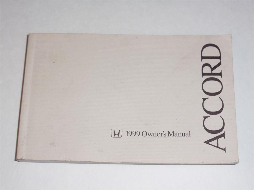 1999 honda accord owners manual book owners manuals pinterest rh pinterest com 99 honda accord repair manual pdf 1999 honda accord repair manual pdf