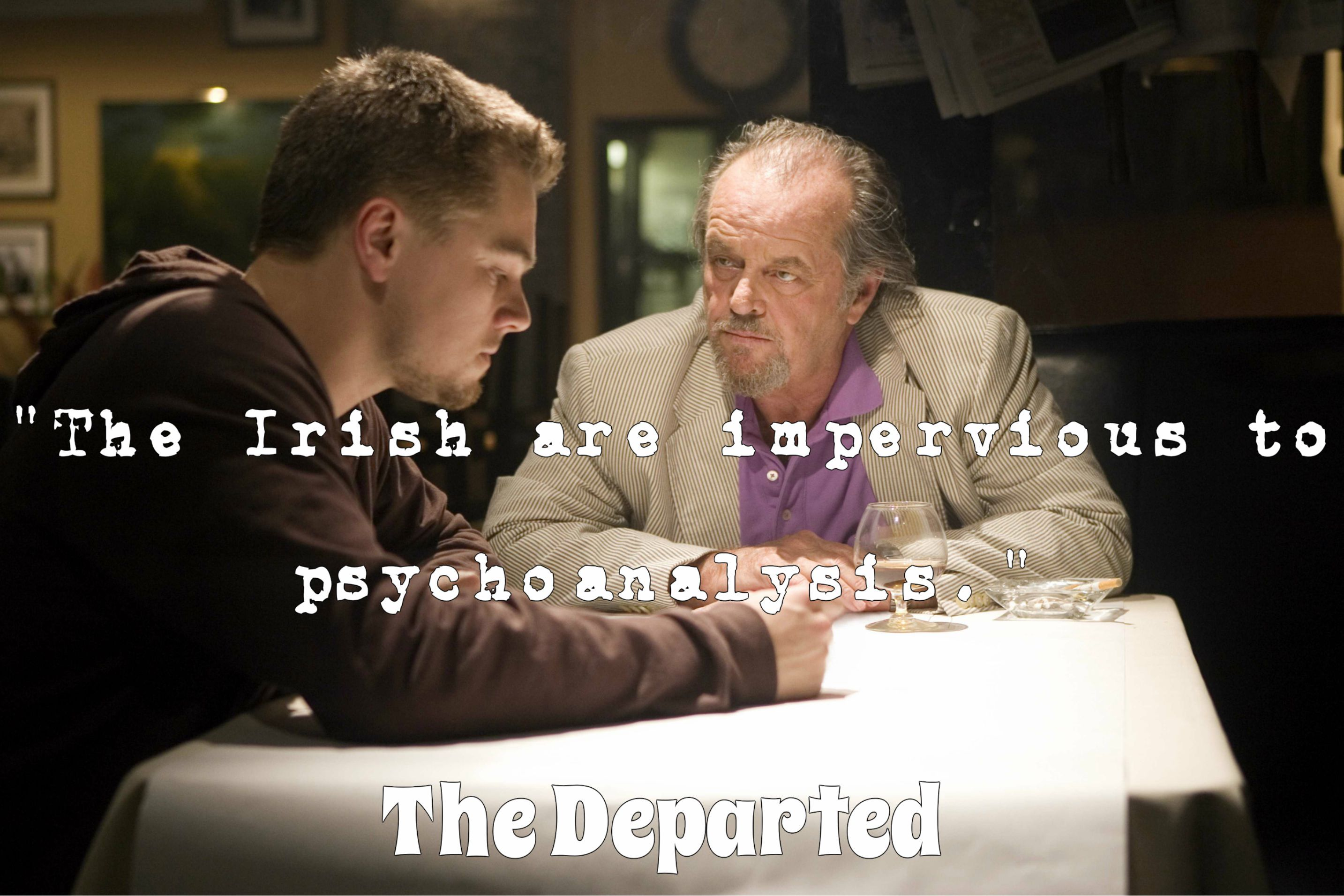 The Departed Quotes Irish