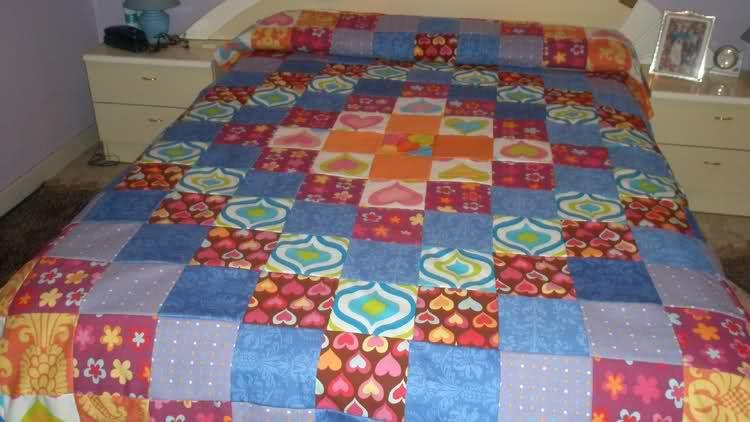 Esquemas de colchas de patchwork imagui pachword - Patrones colcha patchwork ...