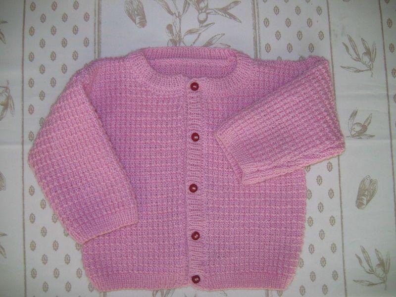 modele gratuit tricot fillette 4 ans