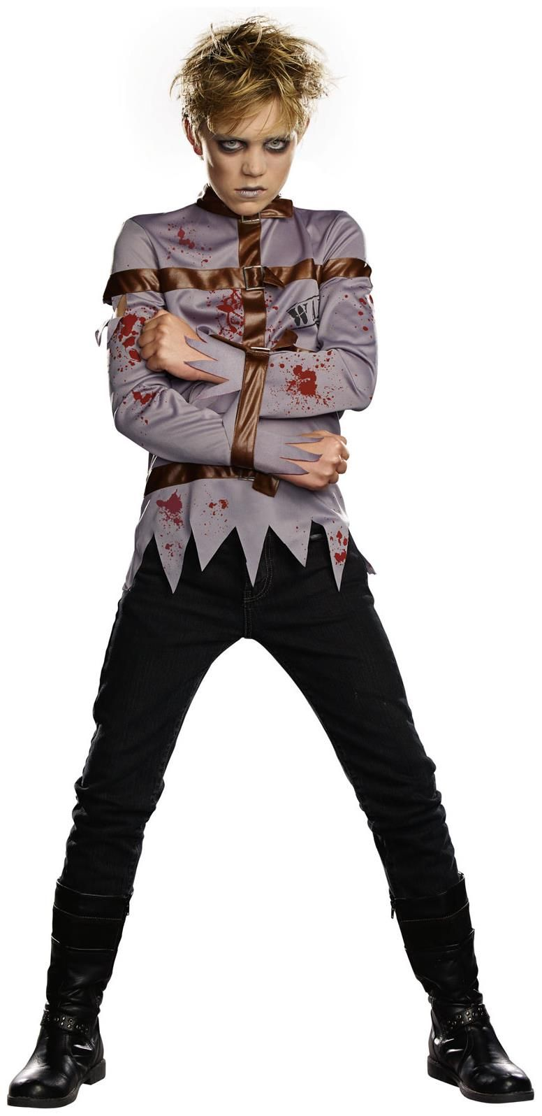 PartyBell.com - Straight Jacket #Zombie Child Costume | Halloween ...