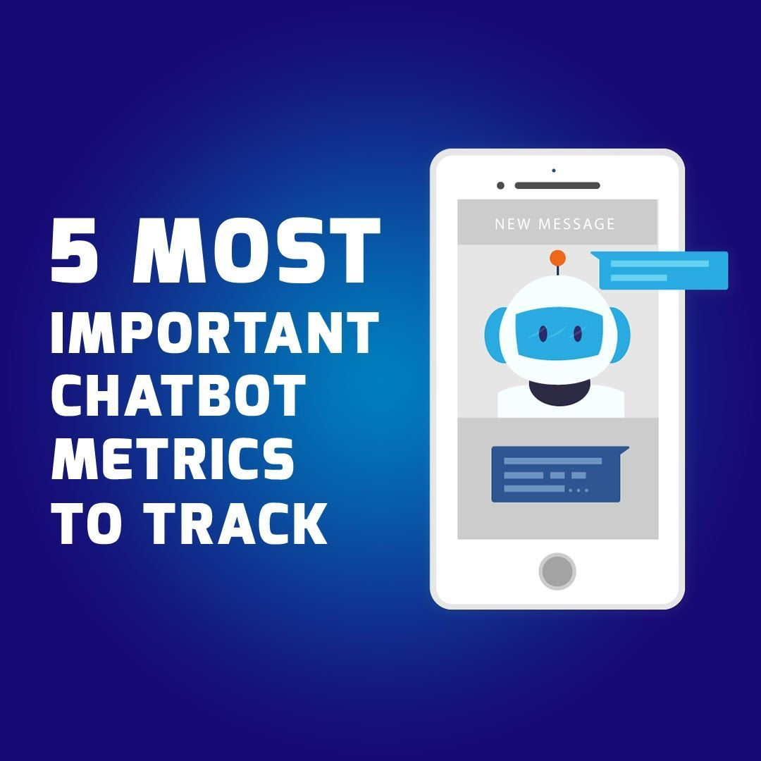 5 Most Important Chatbot Metrics To Track Chatbot The Chatbot Device Which Help To Provide Customer Service In 24 7 Kn Chatbot Metric Marketing Trends