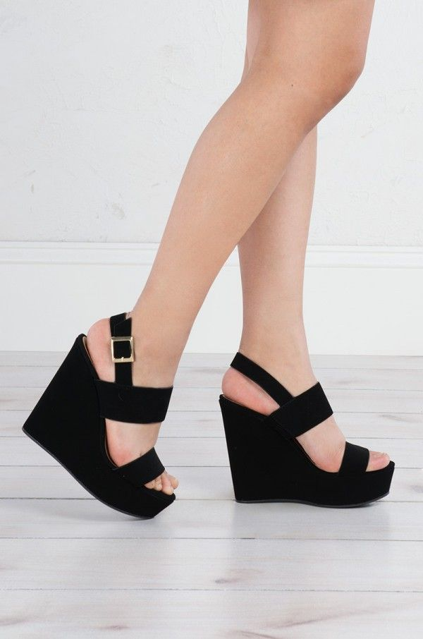 7c76279a74 COMFY AND SEXY WEDGE SANDALS | Girl | Wedge sandals, Platform wedge ...