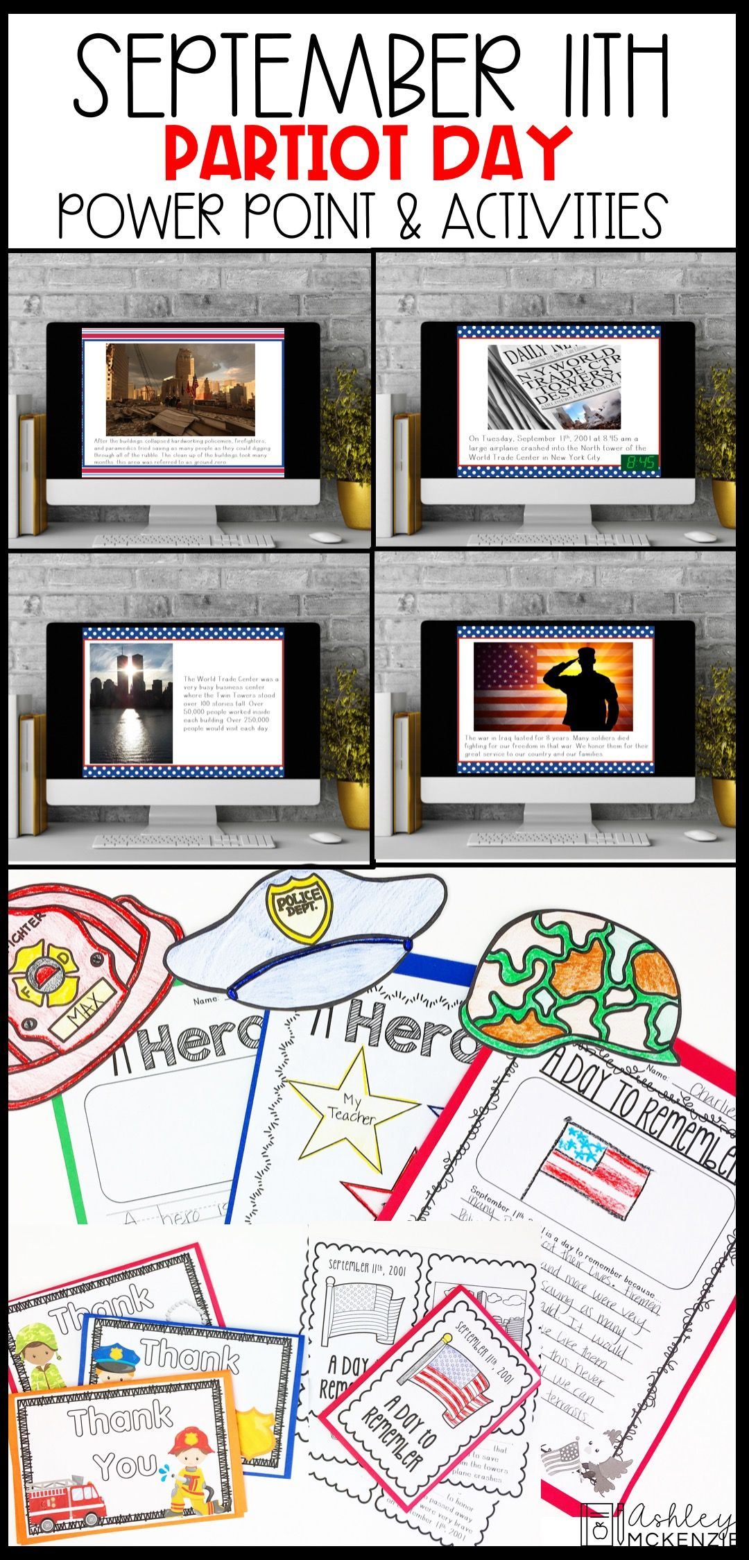 September 11th Patriot Day Power Point Amp Activities Lesson