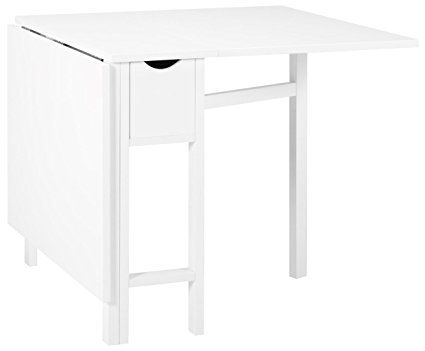 Jysk Folding Dining Table Snekkersten White Folding Dining Table