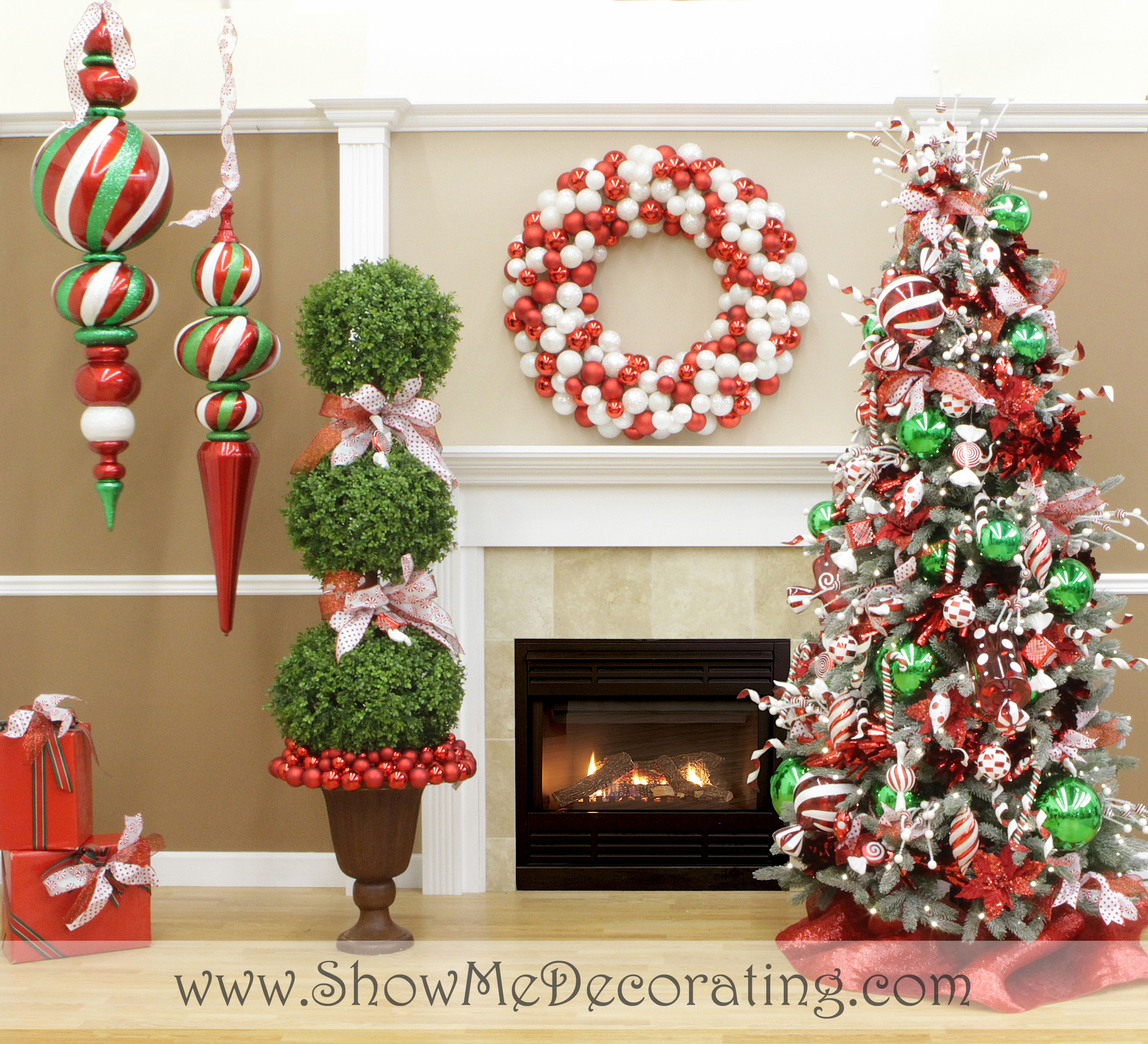 Show Me Decorating 2013 Christmas Tree Themes Inspiration And DIY