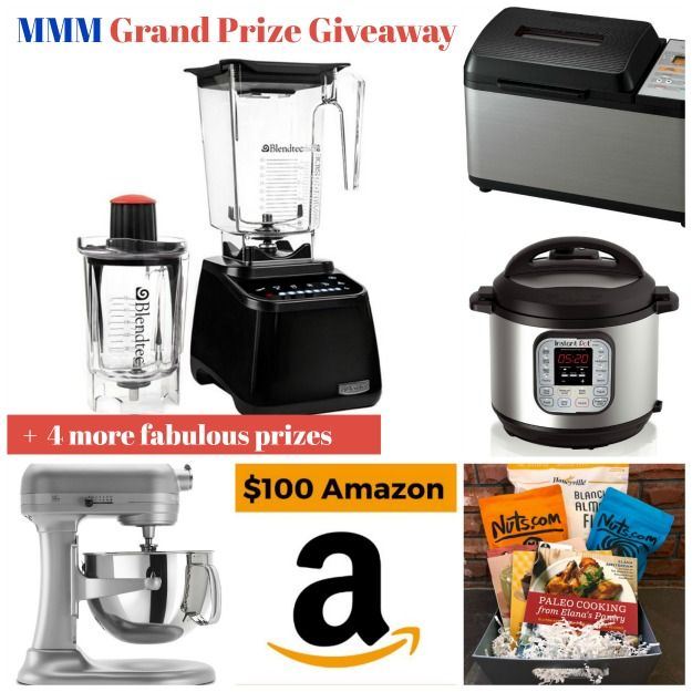 Grand Prize Giveaway for March Muffin Madness for 2018! Blendtec, KitchenAid Professional 600 Lift Stand Mixer, Zojirushi Breadmaker, Instant Pot (7-in-1 Multi-use), Amazon gift card & more on gfe. Don't miss out! via @shirleygfe