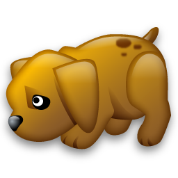 Http Www Iconarchive Com Show Tiny Animals Icons By Iconshock Dog Icon Html