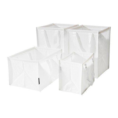 DIMPA Väska för källsortering, set om 4  - IKEA