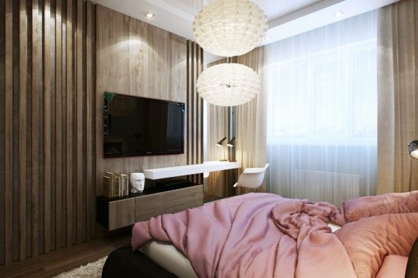 Small Bedrooms Ideas   That ledge below the TV could double up as a study  table. Small Bedrooms Ideas   That ledge below the TV could double up as