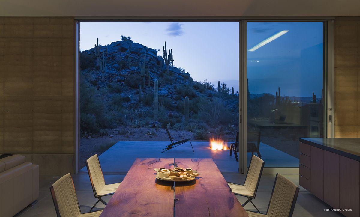 Tucson Mountain Retreat D U S T Maison Contemporaine Construction Maison Maison Maroc