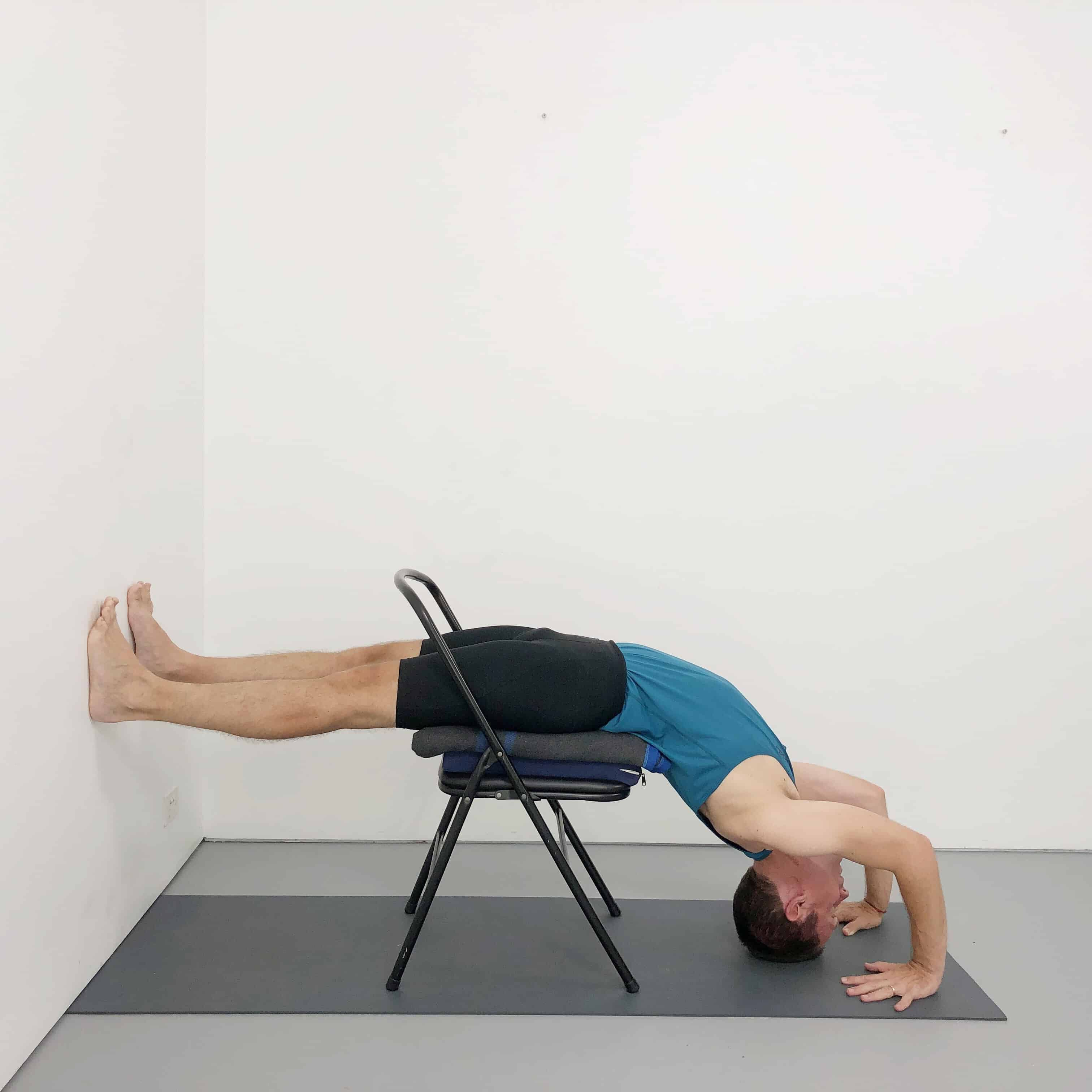 Iyengar Yoga Chair Backbends Yoga Selection Iyengar Yoga Yoga Backbend Chair Yoga