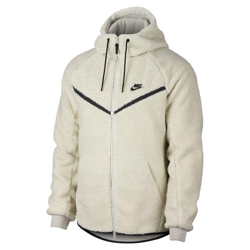 841e1ad683 Nike Sportswear Windrunner Tech Fleece Men s Sherpa Hoodie - Cream