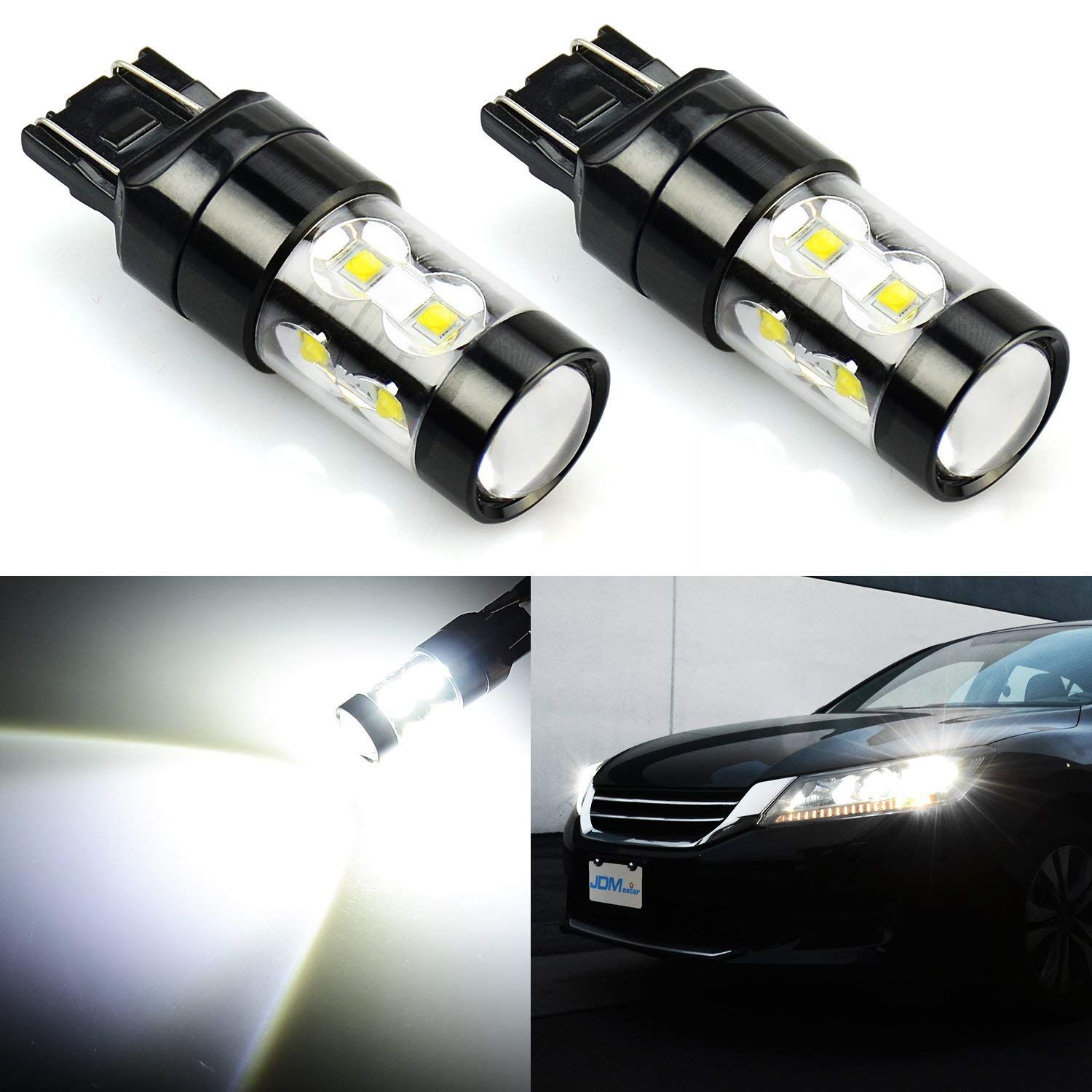 hight resolution of jdm astar extremely bright max 50w high power 7444 7443 7441 7440 led fog light bulbs for back up reverse lights xenon white price 12 49