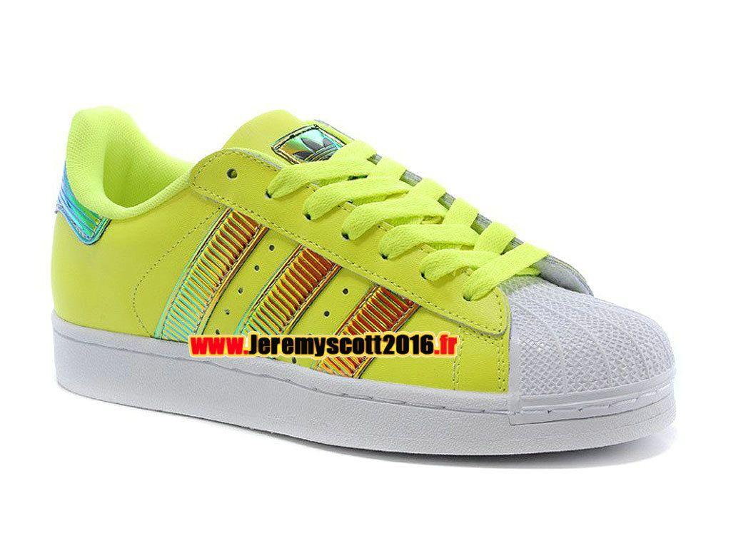 Adidas Originals Superstar - Chaussure Adidas Sportswear Pas Cher Pour Homme  Femme Abricot Aurore Blanc D65617 73e5496394d8