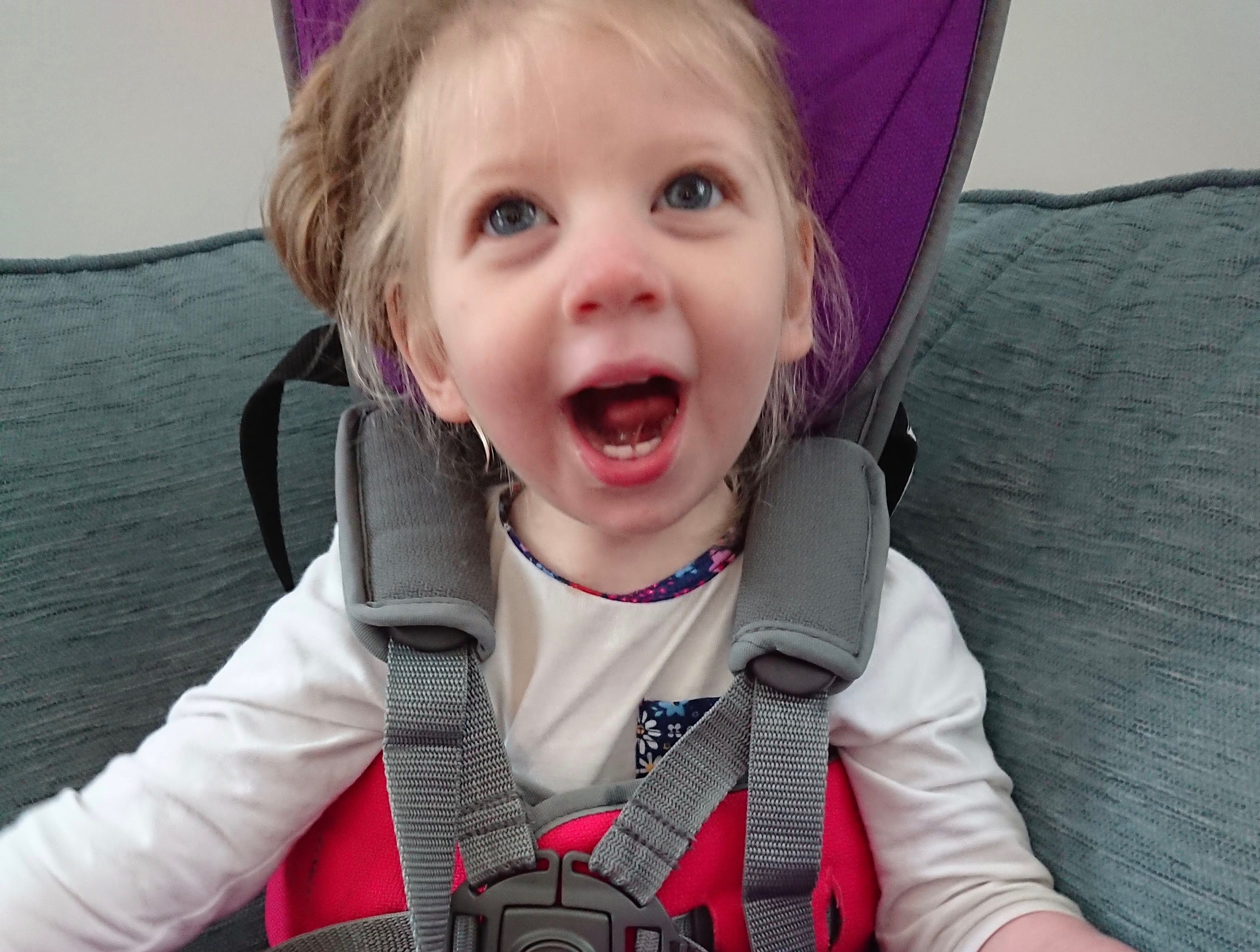 Sarah Willow was born with a rare brain disorder ...