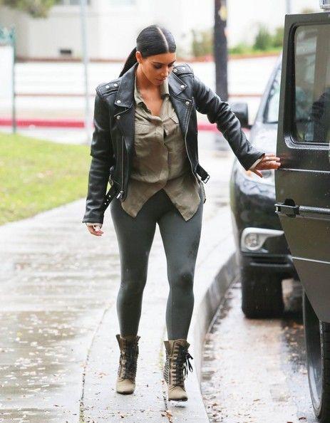 6c570085e5d Kim Kardashian Day Dress - Kim Kardashian Clothes Looks - StyleBistro