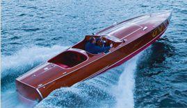 hacker craft mahogany boat...my dream