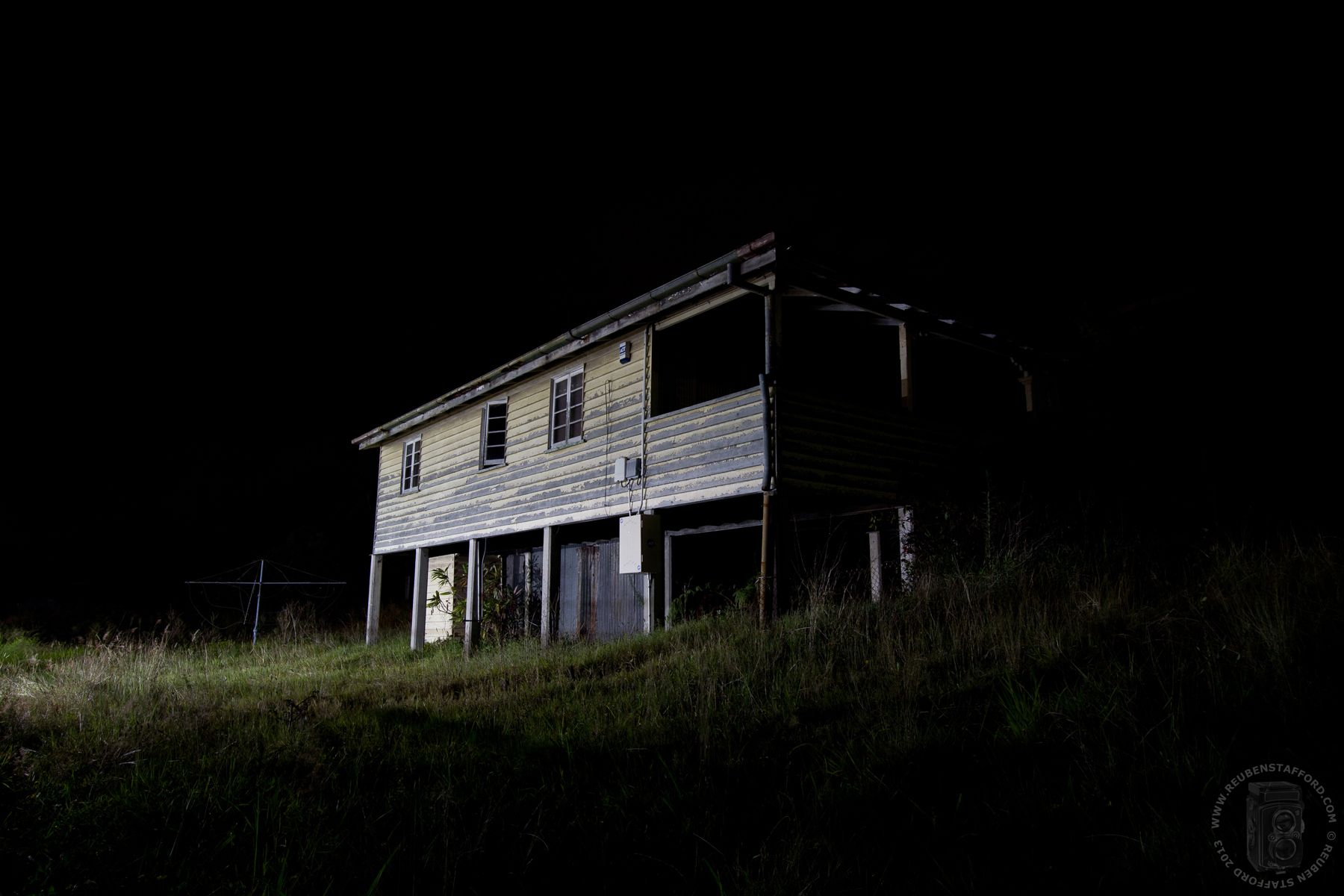 At night | In the Well: Abandoned House | Pinterest